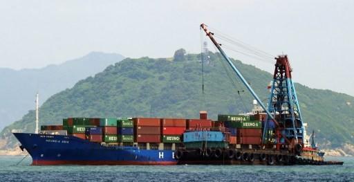 中國至香港出口虛報創今年新高     (圖:AFP)