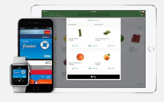 Apple Pay上線72小時,逾百萬信用卡啟用。(圖片來源:蘋果官網)
