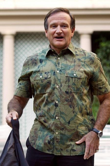 羅賓威廉斯自殺身亡(圖:AFP)