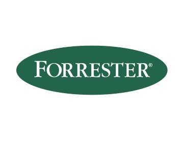 研究機構 Forrester Research 標誌。