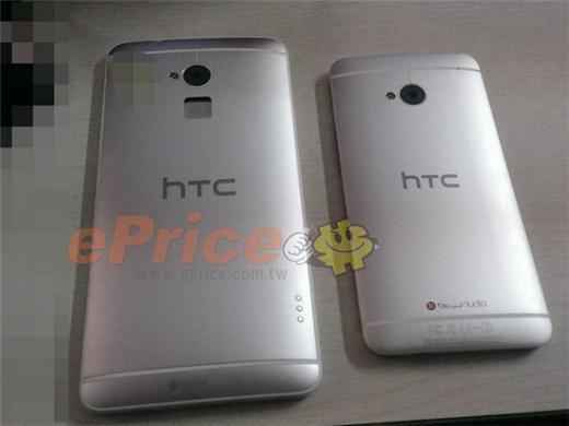 HTC One Max機身背面鏡頭下方的指紋感應器空格。(圖:ePrice)
