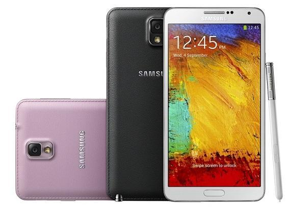 Galaxy Note 3。