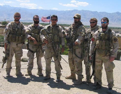 美國海豹 6 隊成員,照片中成員已於阿富汗作戰中陣亡。(圖片來源:維基百科)