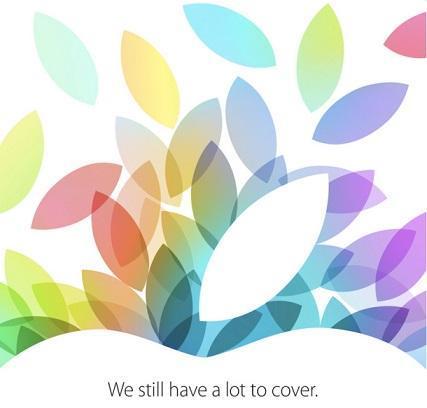 蘋果10月22日的媒體邀請函。(圖:CNET)
