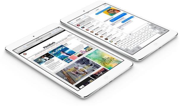 Retina版iPad mini。(圖:蘋果官網)