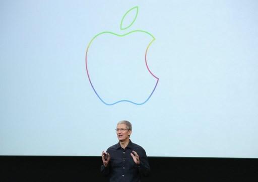 蘋果執行長庫克      (圖:AFP)