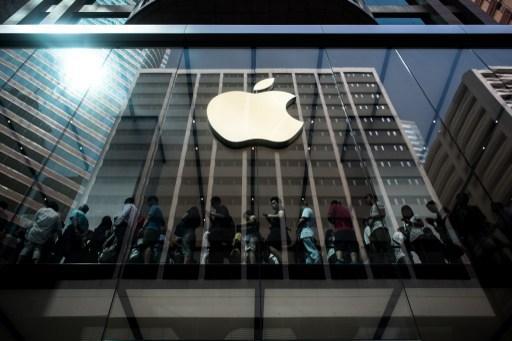 蘋果預計在週二公布最新一季的財報。 (圖:AFP)