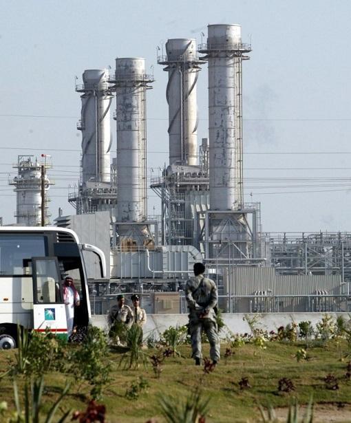沙烏地阿拉伯油廠 (圖:AFP)