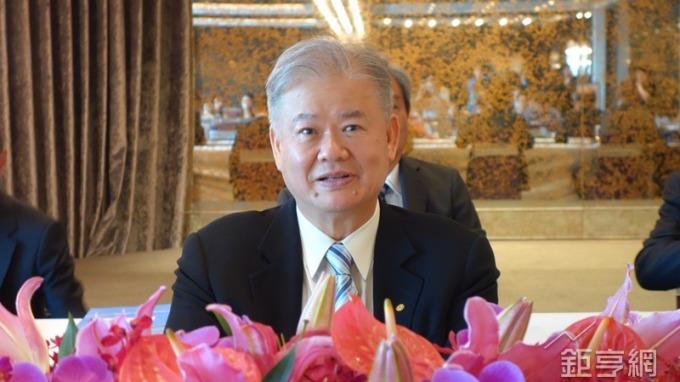 日胜生董事长林荣显.(钜亨网记者张钦发摄)图片