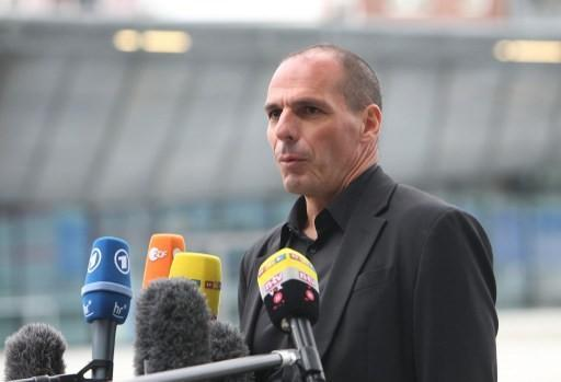 希臘財長Yanis Varoufakis      (圖:AFP)