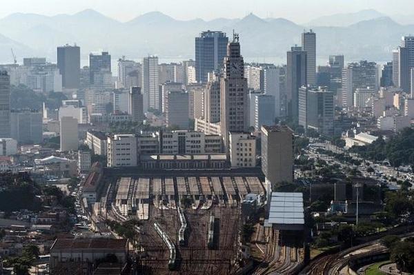 巴西里約熱內盧市景 (圖:AFP)