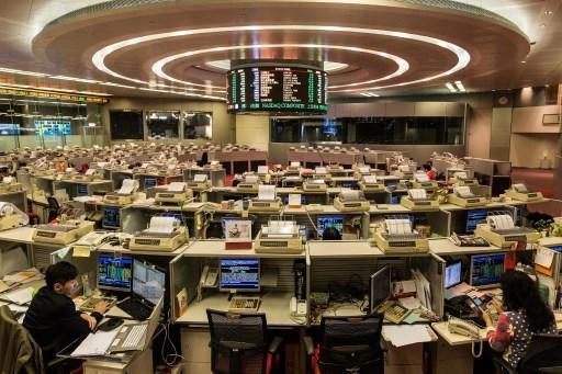 港股本周瘋漲(圖:AFP)