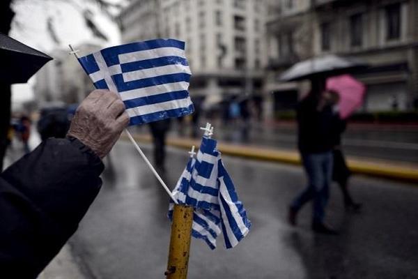 希臘街頭。(圖:AFP)