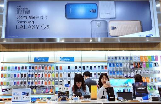 蘋果打贏專利戰  仍無法撼動三星(圖:AFP)