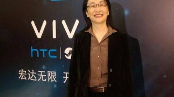 宏達電投資逾億美元衝刺VR 王雪紅宣布全球加速器計劃