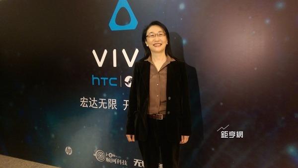 宏達電董事長王雪紅積極進軍VR領域。(資料照,鉅亨網記者楊伶雯攝)