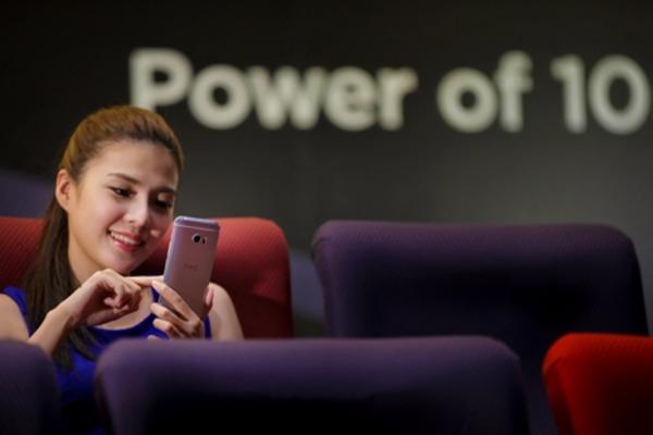 宏達電年度旗艦機HTC10是第2季重要成長動能。(圖:宏達電提供)