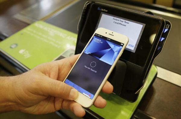 Apple Pay。(圖:AFP)