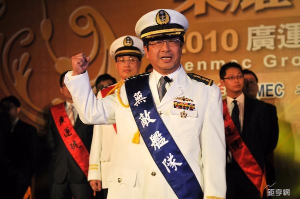 廣運成立即將屆滿40周年,中為廣運董事長謝清福。(鉅亨網記者張欽發攝)