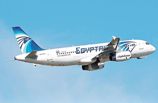 登記編號為SU-GCC的出事空中巴士A320客機。 (圖:AFP)