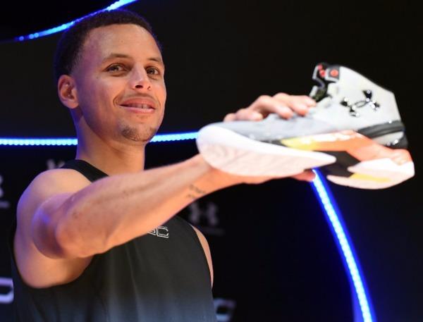 NBA 金州勇士隊當家球星柯瑞。 (圖:AFP)