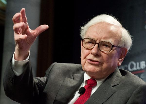 「股神」巴菲特 (Warren Buffett) 圖片來源:afp