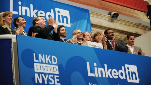 微軟262億美元收購LinkedIn 股價暴漲超過46%