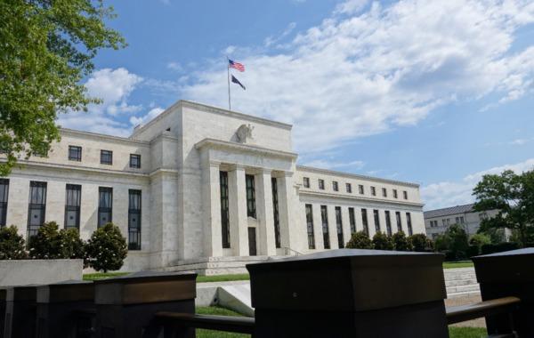 美國聯準會 (Federal Reserve) 在華府總部 圖片來源:afp