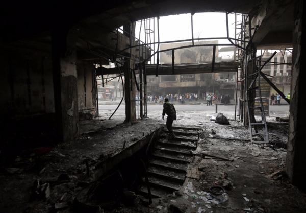 伊拉克巴格達爆炸造成逾200人喪生。  (圖:AFP)