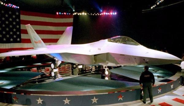 F-22戰機      (圖:AFP)