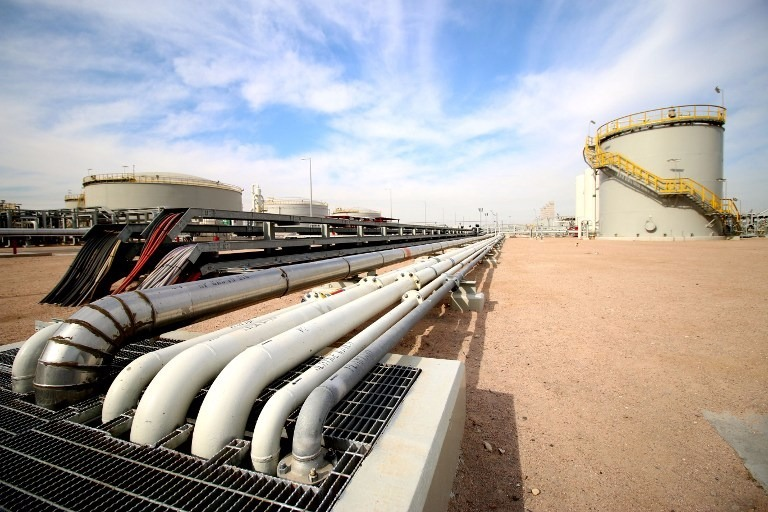 圖:AFP 美國原油庫存意外增加