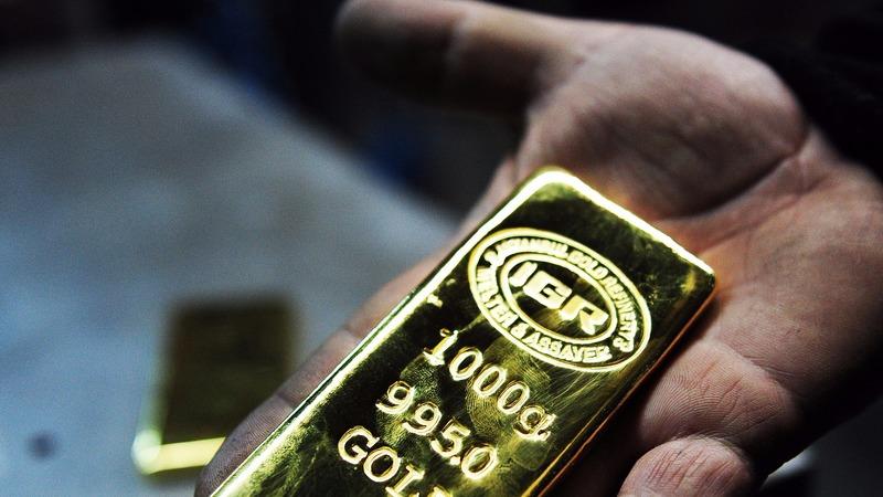 圖:AFP  高盛建議等待黃金買進機會