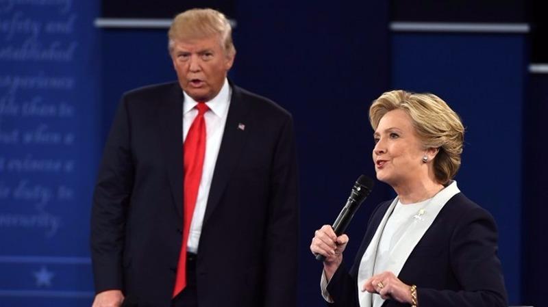 希拉蕊與川普將在當地時間19日終極辯論。  (圖:AFP)