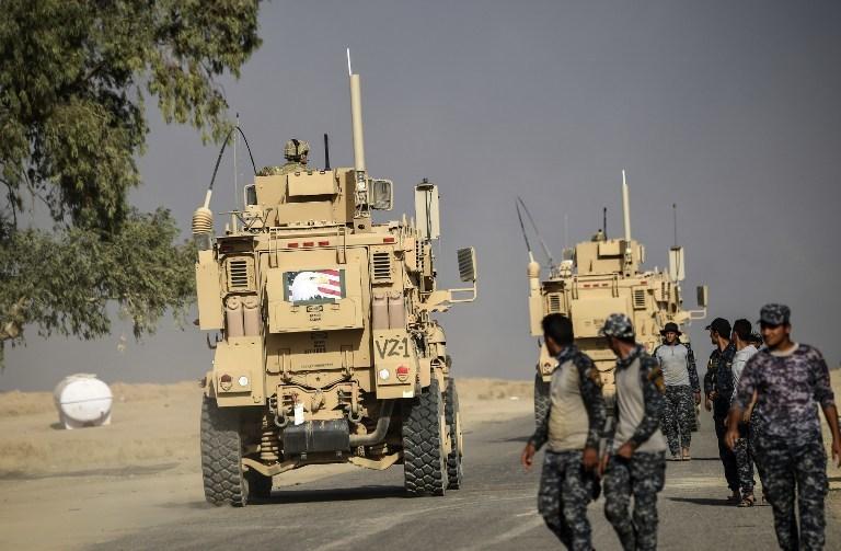 伊軍首日奪回20村鎮。  (圖:AFP)