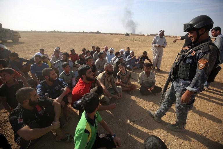 摩蘇爾平民從ISIS手中解放出來。  (圖:AFP)