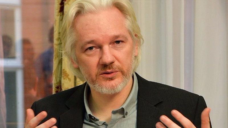 維基解密創辦人阿桑奇。  (圖:AFP)
