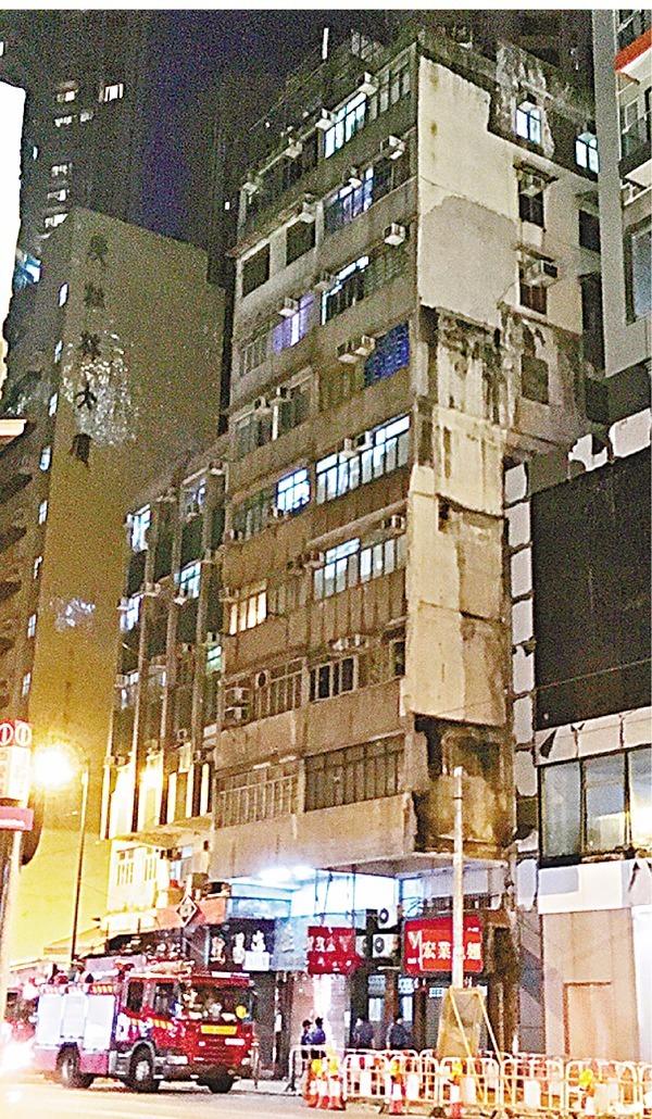 香港的「太空艙」租房通常隱身在舊樓裡。 圖片來源:香港文匯報