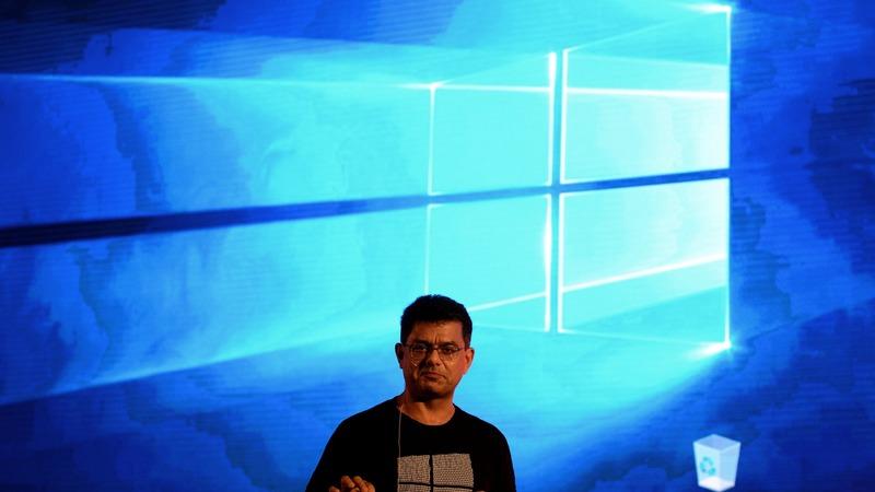 微軟將於11月8日發布更新檔修補系統漏洞。 (圖:AFP)