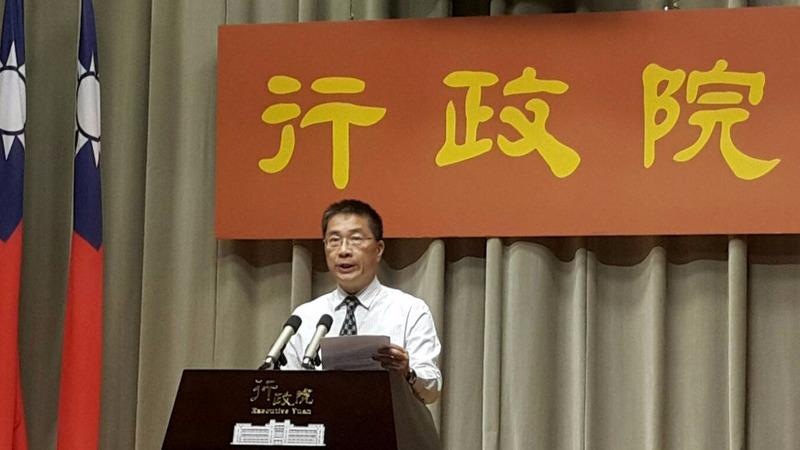 行政院發言人徐國勇。(鉅亨網資料照片)