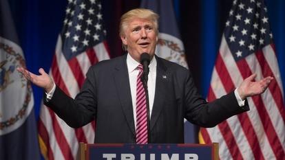 川普當選美國總統,加重美國公債賣壓。(圖片來源:AFP)