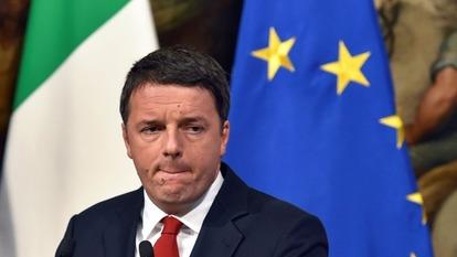 義大利總統倫齊(圖:AFP)