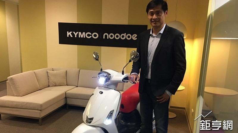 KYMCO集團董事長柯勝峯。(鉅亨網記者王莞甯攝)