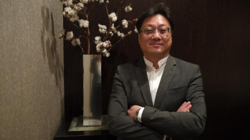 鑫盛傳媒董事長羅法平。(圖:鑫盛傳媒提供)