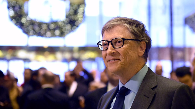 微軟共同創辦人比爾蓋茲 Bill Gates 圖片來源:afp