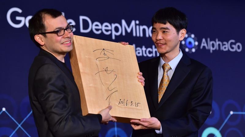 人機大戰助Deepmind一戰成名(圖:AFP)