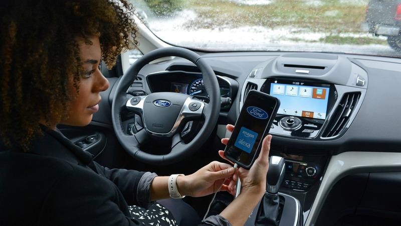 福特於CES發表業界首創「車內聲控購物」功能。(圖:福特六和提供)