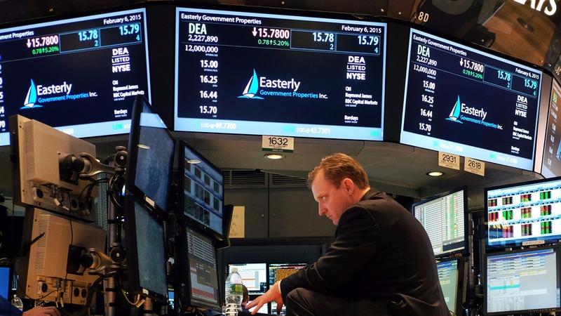 圖:AFP 美國股市週二進行整理
