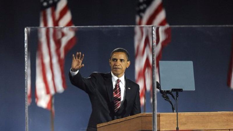 歐巴馬今早將發表告別演說,他將成為其中一名以高民望卸任的美國總統。 (圖:AFP)