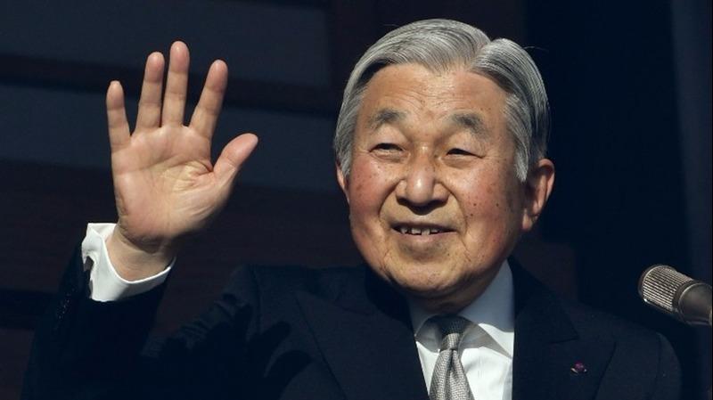 傳日皇明仁明年退位。  (圖:AFP)
