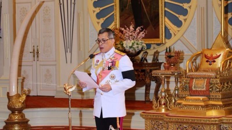 泰王瓦吉拉隆功。  (圖:AFP)